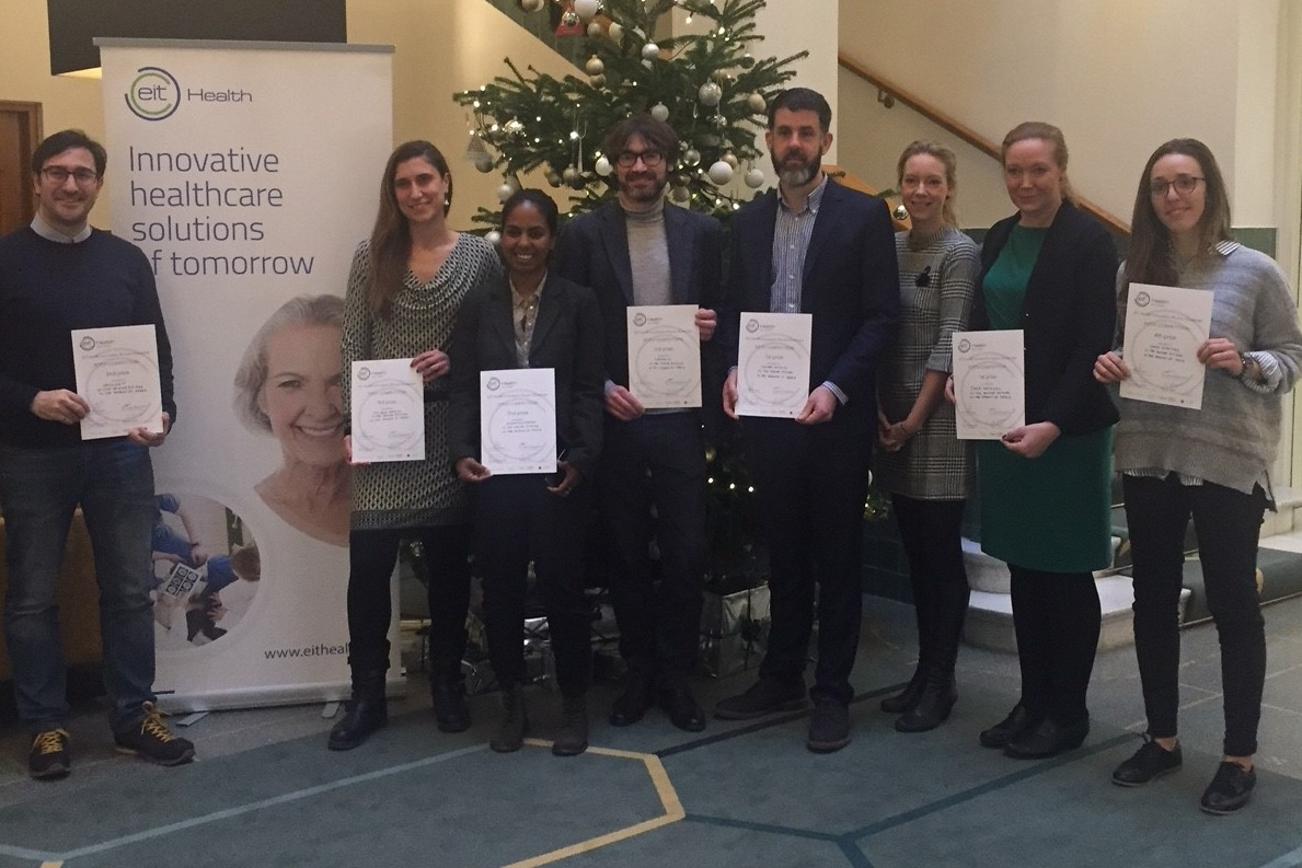 Fellows guanyadors a Estocolm d·HEALTH